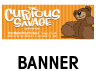 Curious Savage Outdoor Banner
