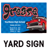 Grease Yard Sign