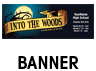Into the Woods Outdoor Banner