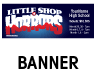 Little Shop of Horrors Outdoor Banner