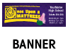 Once Upon a Mattress Outdoor Banner