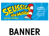 Seussical the Musical Outdoor Banner