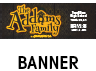 The Addams Family Musical Banner