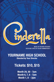 Cinderella Poster and Template